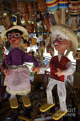 Photograph - Mexican Puppets by John  Mitchell