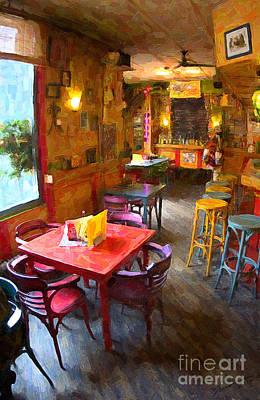 Mexicano Digital Art - Mexican Restaurant  by Eduardo Mora