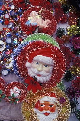 Photograph - Mexican Santas by John  Mitchell