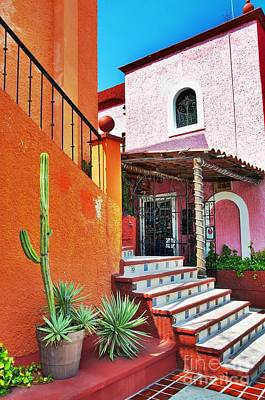 Photograph - Mexican Villa  by Sarah Mullin