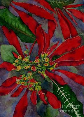 Painting - Mexican Wild Poinsetta by Deane Locke