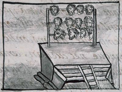 Mexico - Skull Rack Art Print by Granger