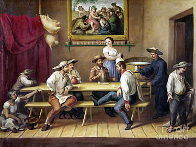Photograph - Mexico: Bar Scene by Granger
