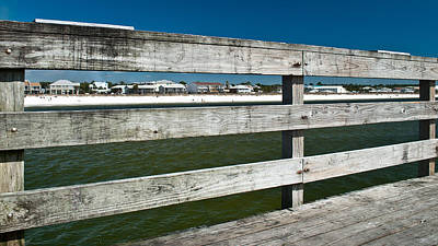 Photograph - Mexico Beach Through The Pier by George Taylor