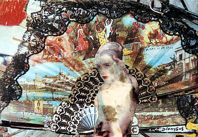 Surrealism Mixed Media - Mexico by Dennis Stahl