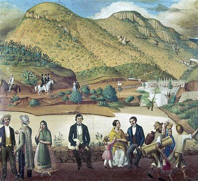 Mexico Guanajuato, C1850 Art Print