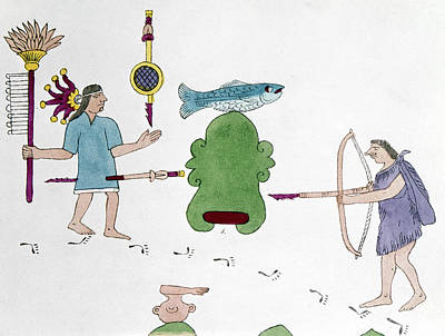 Mexico Indian Warfare Art Print