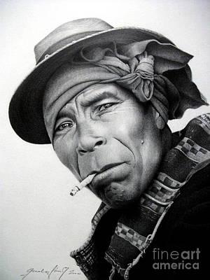 Portraits Drawing - Mexico by Miro Gradinscak