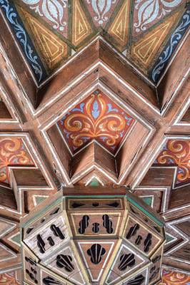 Photograph - Mexico Mission Ceiling by Bill Hamilton
