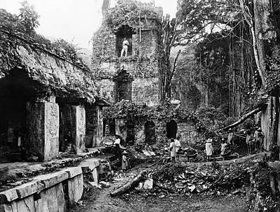 1880s Photograph - Mexico Palenque, 1880s by Granger