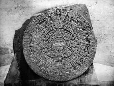 Mexico Stone Of The Sun Print by Granger