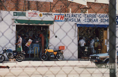 Photograph - Mexico Tiendas Shops By Tom Ray by First Star Art