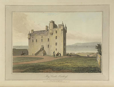 Mey Castle In Caithness Art Print