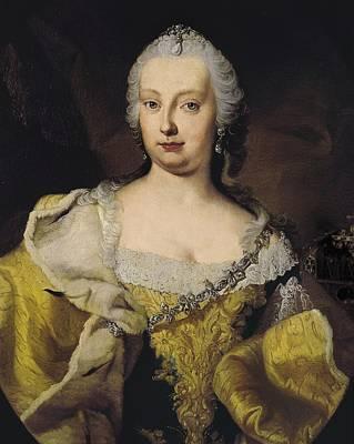 Seven Years War Photograph - Meytens, Martin Van 1695-1770. Portrait by Everett