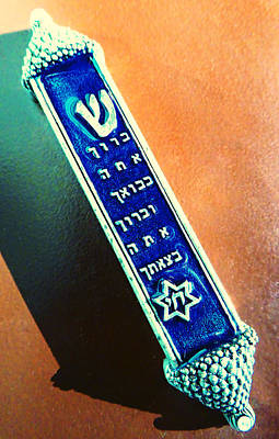 Photograph - Mezuzah 2 by Laurie Tsemak
