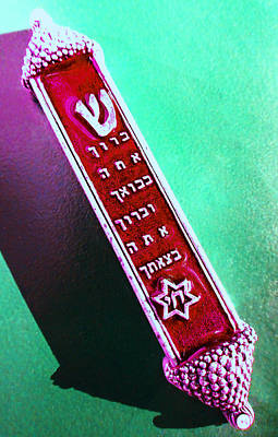 Photograph - Mezuzah 4 by Laurie Tsemak