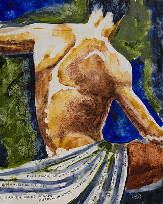 Mezzotints Art Print by Brenda Clews