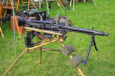 Photograph - Mg-42 Machine Gun by Paul Mashburn