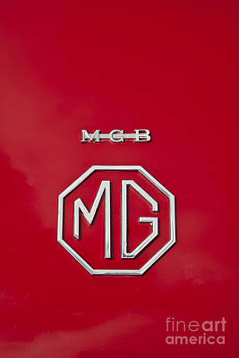 Photograph - Mg Badge 1 by Anthony Morgan