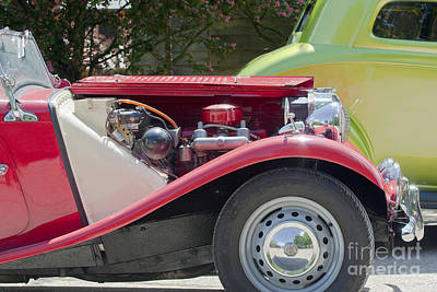 Photograph - Mg Engine by Terri Waters