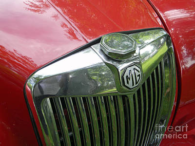 Photograph - Mg Magnette by Neil Zimmerman