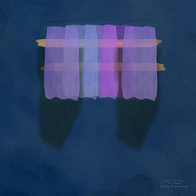 Mgl - Abstract Soft Blocks 01 I Art Print
