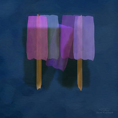Mgl - Abstract Soft Blocks 01 II Art Print