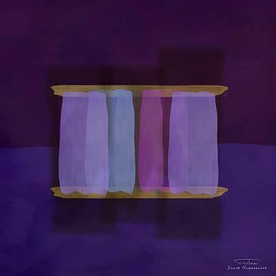 Mgl - Abstract Soft Blocks 02 I Art Print