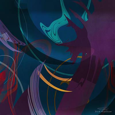 Mgl - Abstract Twirl 01 Art Print by Joost Hogervorst