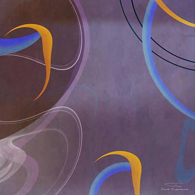Mgl - Abstract Twirl 07 I Art Print by Joost Hogervorst
