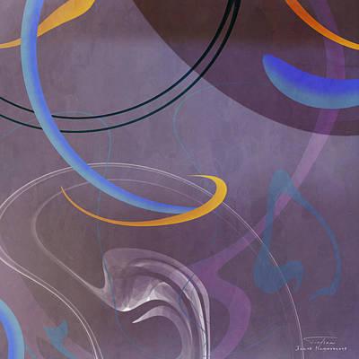 Mgl - Abstract Twirl 07 II Art Print by Joost Hogervorst