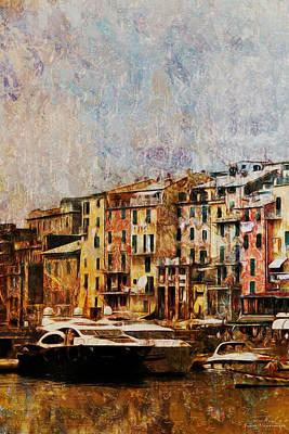 Mgl - Gold Mediterrane 03 Art Print