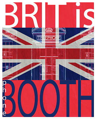 Boots Drawing - Mgl - Travel Brit Is 01 by Joost Hogervorst