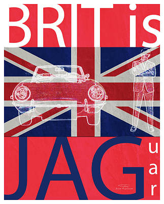 Mgl - Travel Brit Is 02 Art Print
