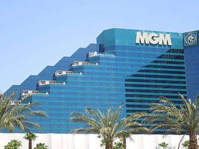 Photograph - Mgm Grand In Las Vegas by Ron Davidson