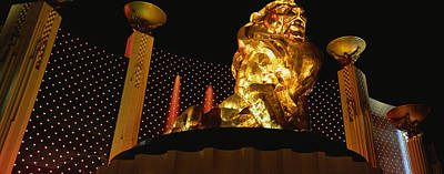 Mgm Grand Las Vegas Nv Art Print by Panoramic Images
