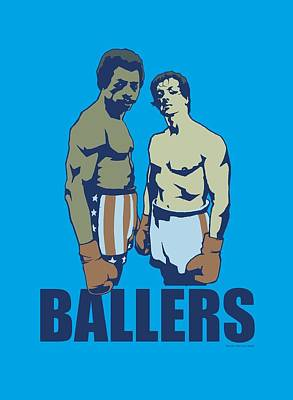 Rocky Balboa Digital Art - Mgm - Rocky - Ballers by Brand A