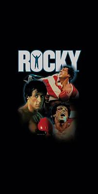 Boxer Digital Art - Mgm - Rocky - I Did It by Brand A