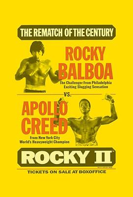 Boxer Digital Art - Mgm - Rocky II - Rematch by Brand A