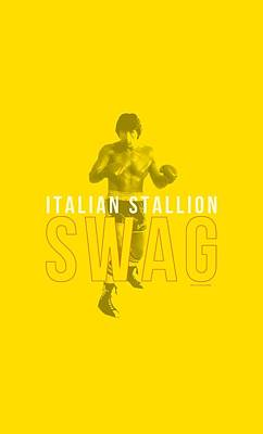 Boxer Digital Art - Mgm - Rocky - Stallion Swag by Brand A