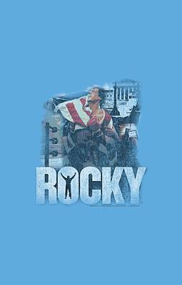 Stallone Digital Art - Mgm - Rocky - The Champion by Brand A