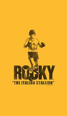 Stallone Digital Art - Mgm - Rocky - The Italian Stallion by Brand A