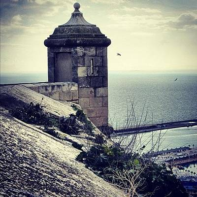 Architecture Wall Art - Photograph - #mgmarts #spain #alicante #view #nature by Marianna Mills