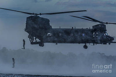 Mh-47 Chinook Helicopter  Original by Celestial Images