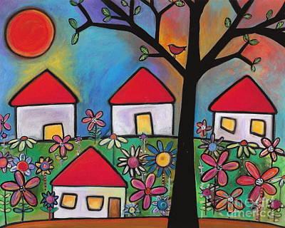 Mi Casa Es Su Casa Art Print by Carla Bank