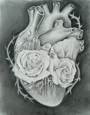 Mi Corazon II Art Print by E White