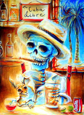 Mi Cuba Libre Art Print by Heather Calderon