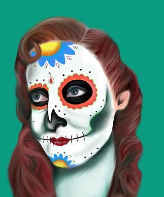 Mi Muerte Art Print by E White