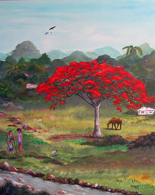 Mi Rinconcito Art Print