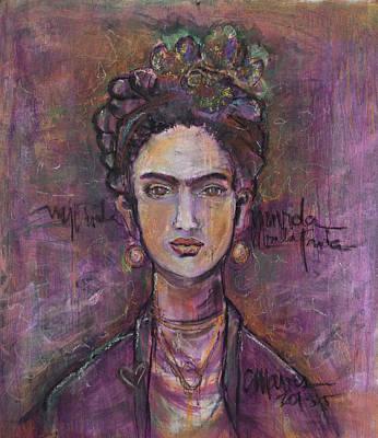 Painting - Mi Vida Mi Frida by Laurie Maves ART